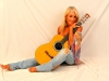 Yvonne and Guitar
